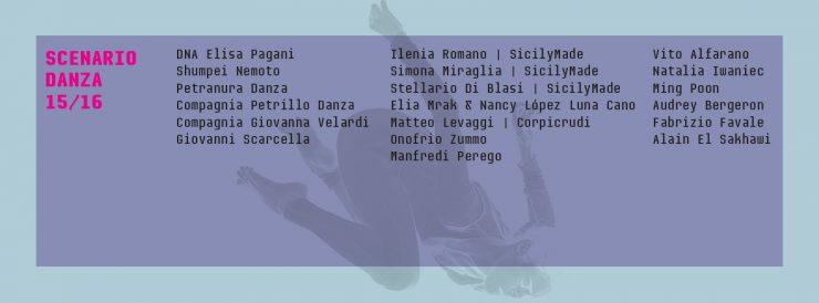 Welcoming | Scenario Danza 15/16
