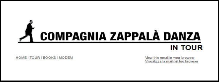 Compagnia Zappalà Danza in tour    2017