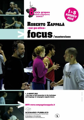 1-5 agosto 2012: VIII uva grapes Catania contemporary dance