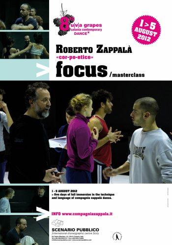 1-5 August 2012: VIII uva grapes Catania contemporary dance