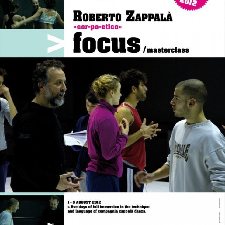 """focus """"corpo etico"""" Roberto Zappalà"""