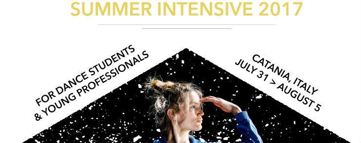 31 luglio – 5 agosto 2017 | Emanuel Gat Dance | summer intensive 2017